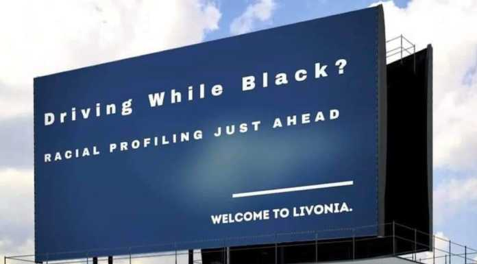 Livonia billboard